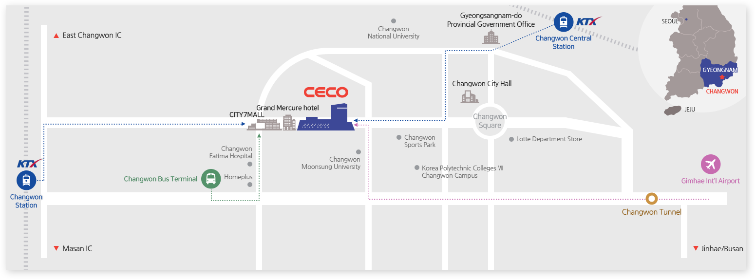 CECO's Transportation